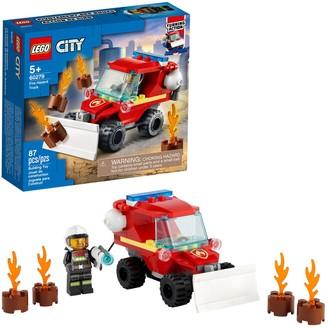 Lego City Fire Hazard Truck 60279 Set (87 Pieces)