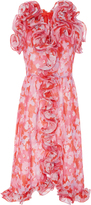 Manoush Floral Statement Dress