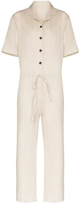 Missing You Already Button-Down Jumpsuit