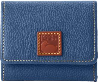 Dooney & Bourke Pebble Grain Flap Wallet