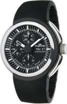 Fortis Men's Spaceleader,chronograph,high Grade Steel,designed By Volkswagon,black Dial, Limited Edition Watch.