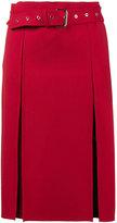 Helmut Lang Midi Skirt with Front Splits