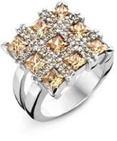 Alvina R-10142 Silver Ring
