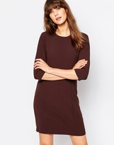 Vero Moda 3/4 Sleeve Shift Dress