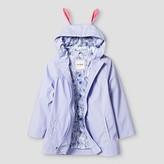 Cat & Jack Toddler Girls' Bunny Hooded Jacket Cat & Jack - Light Purple