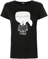 Karl Lagerfeld iconic print T-shirt