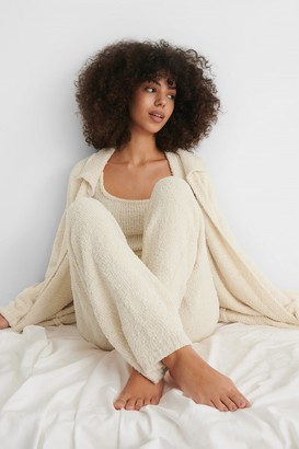 NA-KD Fluffy Knitted Cardigan