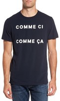 French Connection Men's Comme Ci Comme Ca Regular Fit T-Shirt