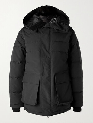 Canada Goose Black Label Wedgemount Quilted Shell Down Hooded Parka