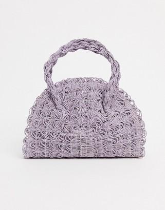 Topshop mini grab bag in lilac