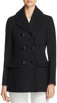 Kate Spade Bow Back Pea Coat