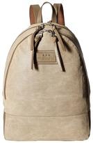 John Varvatos Perf Waxed Suede Backpack Backpack Bags