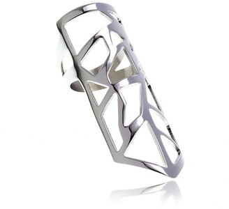 Georgina Jewelry Silver Les Racines Roots Ring