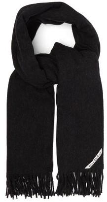 Acne Studios Canada Wool Scarf - Black