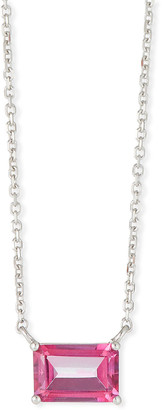 Suzanne Kalan KALAN by Amalfi 14K White Gold Emerald-Cut Necklace