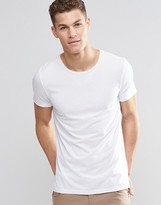 BOSS ORANGE by Hugo Boss T-Shirt With Crew Neck In White