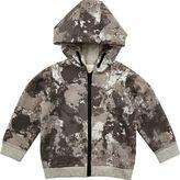 River Island Mini boys grey camo hoodie