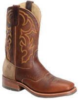"Men's Double H 11"" Wide Square Toe Roper DH4626"