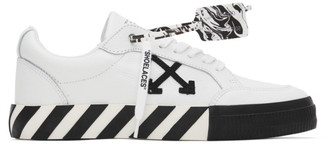 Off-White White Leather Vulcanized Low Sneakers