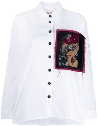 Antonio Marras Loose-Fit Patched Shirt