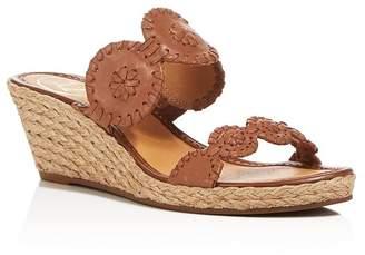 Jack Rogers Shelby Espadrille Wedge Slide Sandals