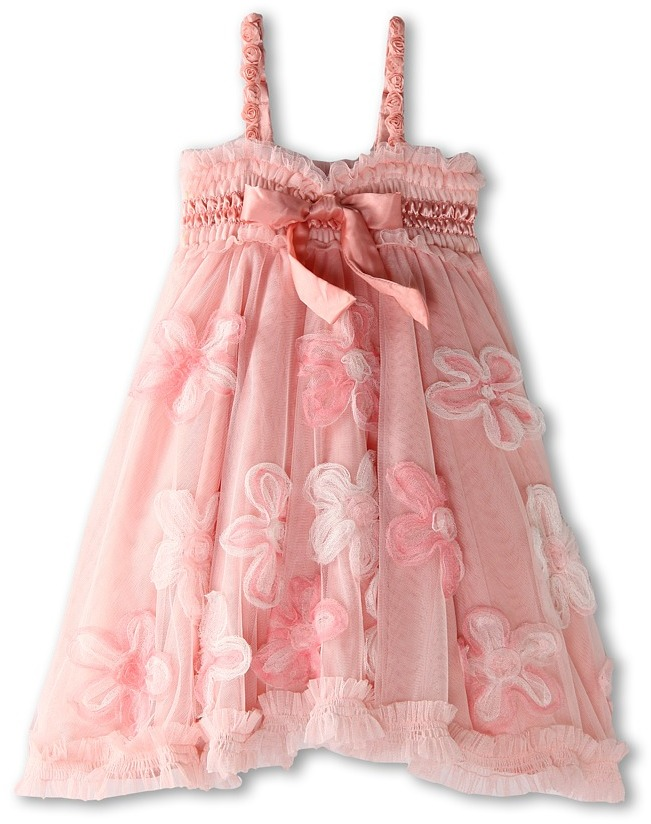 Luna Luna Copenhagen Fleur Dress (Toddler) (Petal) - Apparel