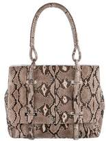 Devi Kroell Snakeskin Shoulder Bag