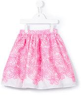 Charabia embroidered skirt