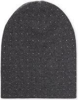 William Sharp Ladies Dark Grey Vibrant Comfortable Crystal Embellished Slouch Hat