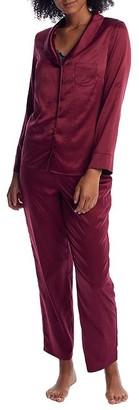 Pour Moi? Dusk Satin Pajama Set