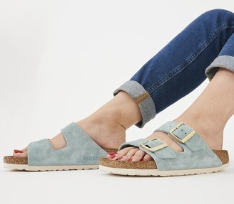 Birkenstock Arizona Two Strap Sandals Light Blue