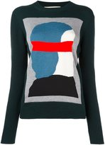 Marni abstract intarsia jumper - women - Polyamide/Mohair/Wool/Virgin Wool - 42