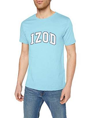 Izod Men's Logo TEE T-Shirt, (Bright White 116), S