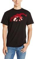 Marvel Spiderman Men's Spiderman Red Chrome Foil T-Shirt