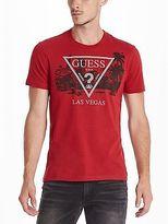 GUESS Men's Las Vegas Crew Tee