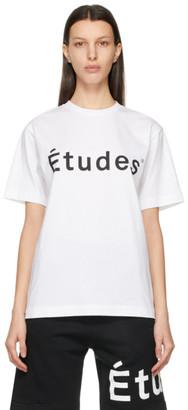 Études White Wonder T-Shirt