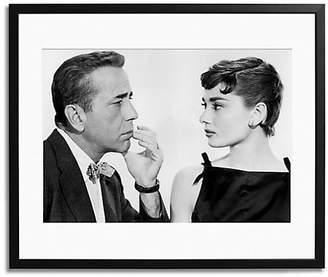 Sonic Editions Bogart And Hepburn Print
