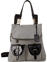 Gabriella Rocha Tonia Striped Backpack with Pockets