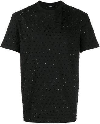 Amen diamond stitch sequin T-shirt