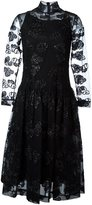 Simone Rocha semi sheer overlay dress