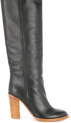 Ports 1961 block heel knee high boots