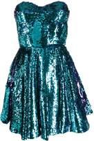 Amen sequin embellished flared dress