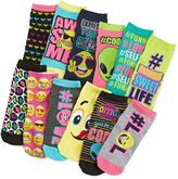 Pink Cookie 6-pk. Mix-And-Match Socks - Girls 6-11
