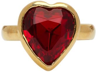 MONDO MONDO Gold Lovely Heart Shaped Ring