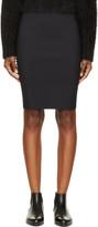 Dion Lee Black Lory Filter Skirt