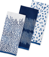 Martha Stewart Collection 3-Pc. Stockholm Kitchen Towel Set