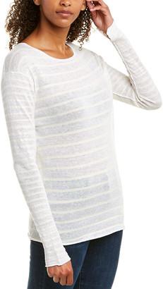 Brochu Walker Linen-Blend Top