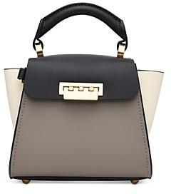 ZAC Zac Posen Eartha Mini Colorblock Leather Crossbody Bag