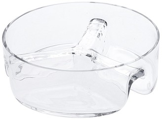Alex Liddy Slate & Co Round Glass Divided Serving Dish 23cm