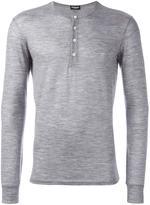 DSQUARED2 pyjama henley - men - Spandex/Elastane/Wool - S